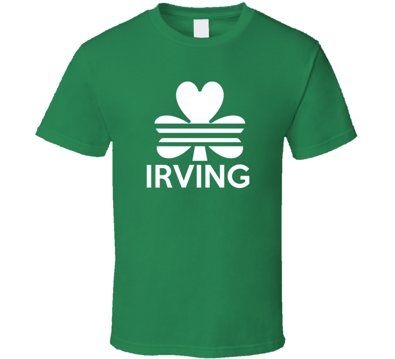 Irving Boston Irish St. Patricks Basketball Adidas Inspired T Shirt