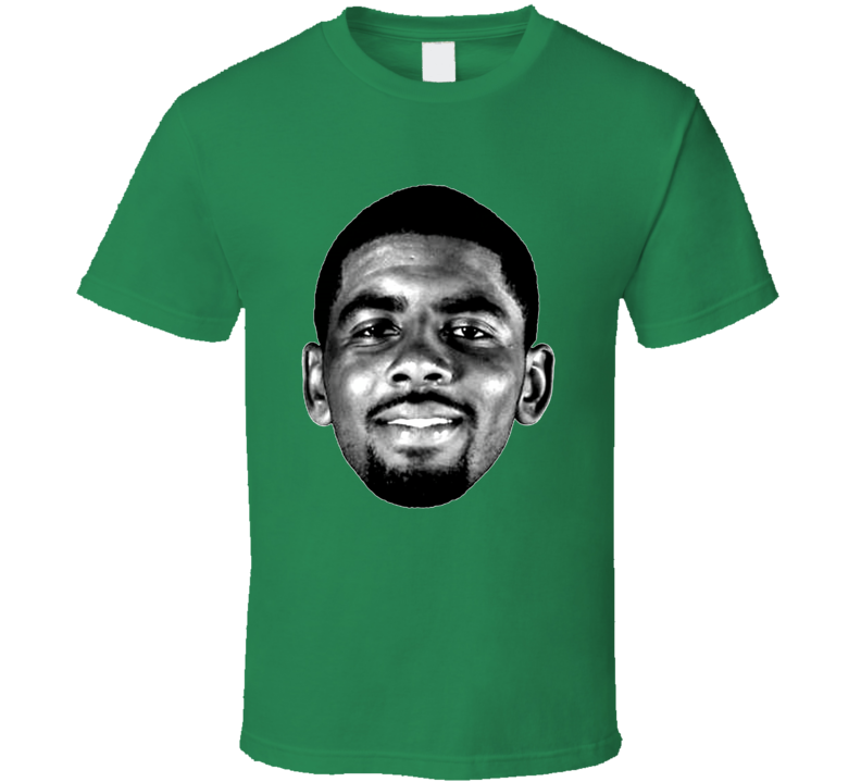 Kyrie Irving Big Head Boston Silhouette Mvp Basketball T Shirt
