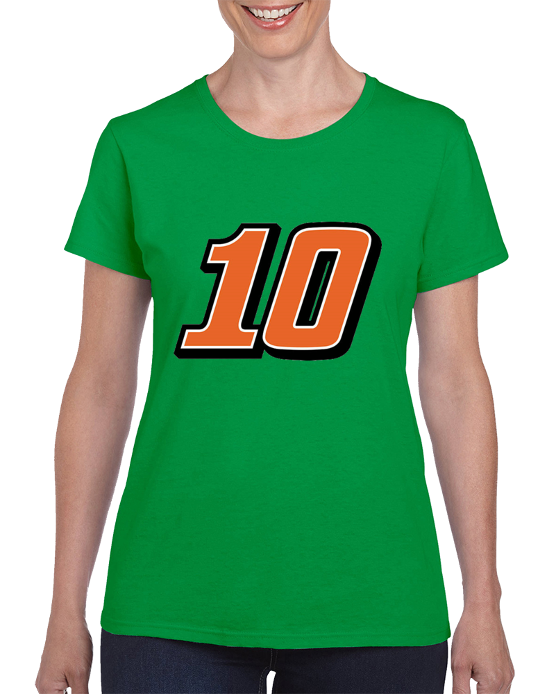 Danica Patrick Nascar Go Daddy 10 Racing Race Car Driver T Shirt