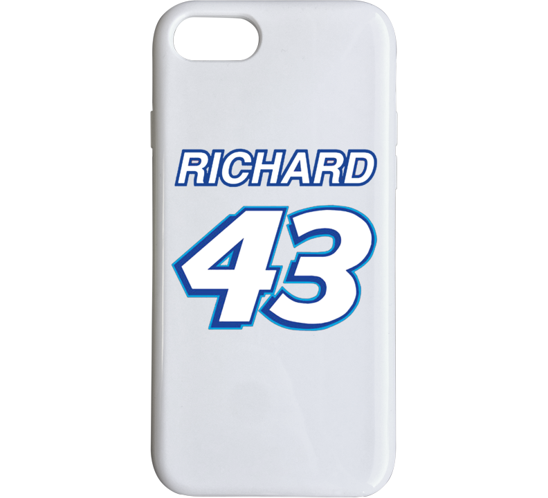 Richard Petty Nascar Race Car Driver I Phone Phone Case
