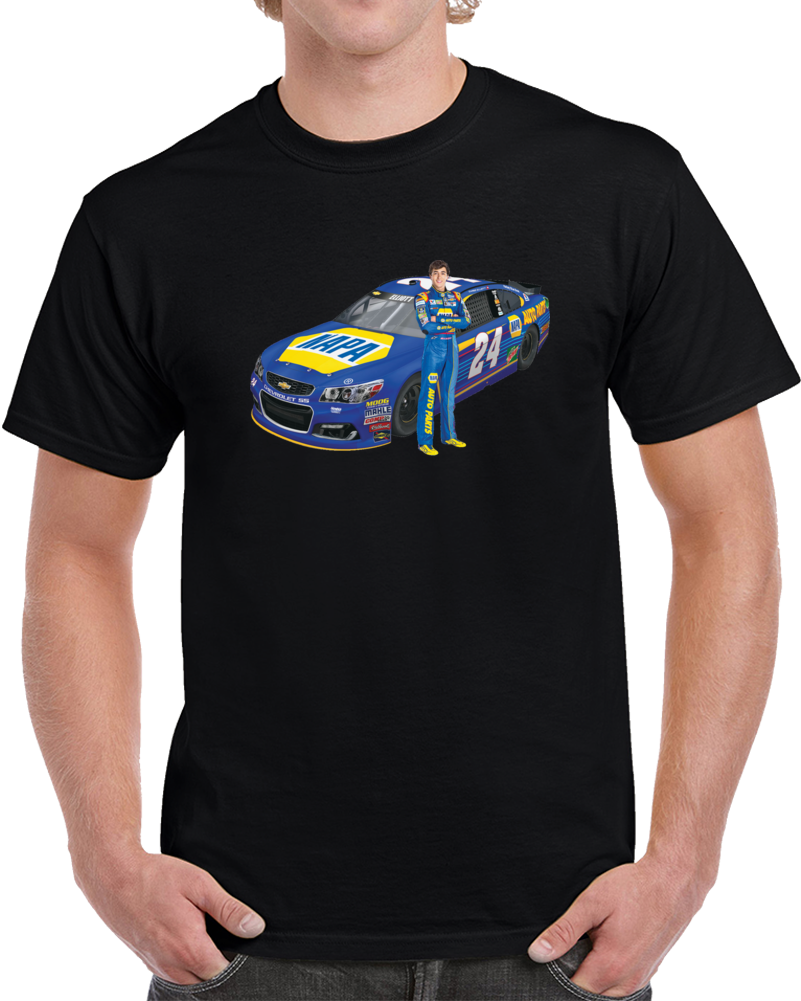 Chase Elliot Race Car Driver Nascar Racing T Shirt