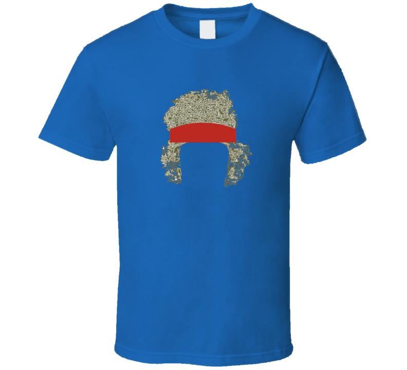 John Mcenroe Tennis Player Legent Sihouette T Shirt
