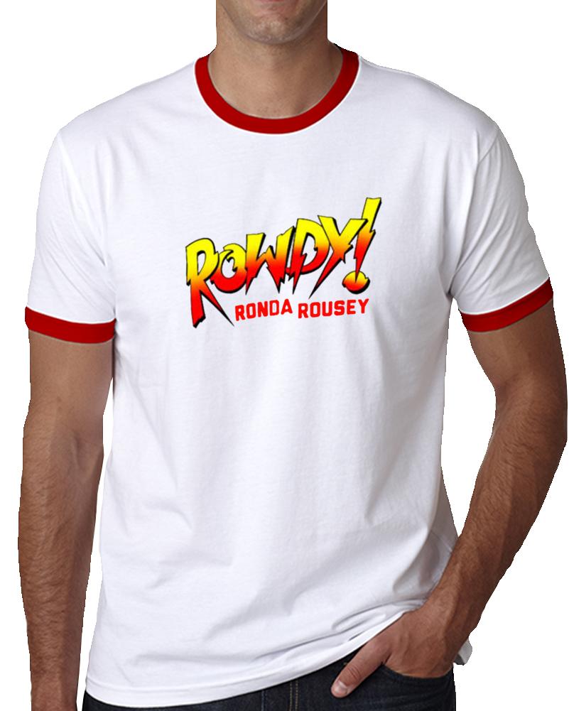 Rowdy Ronda Rousey Piper Wrestler Mma Fighter Wrestling T Shirt