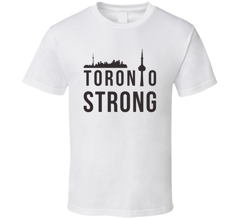 Toronto Strong City United Attack Charity T Shirt