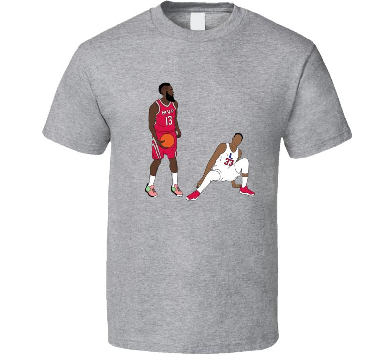 James Harden The Crossover Houston Basketball T Shirt