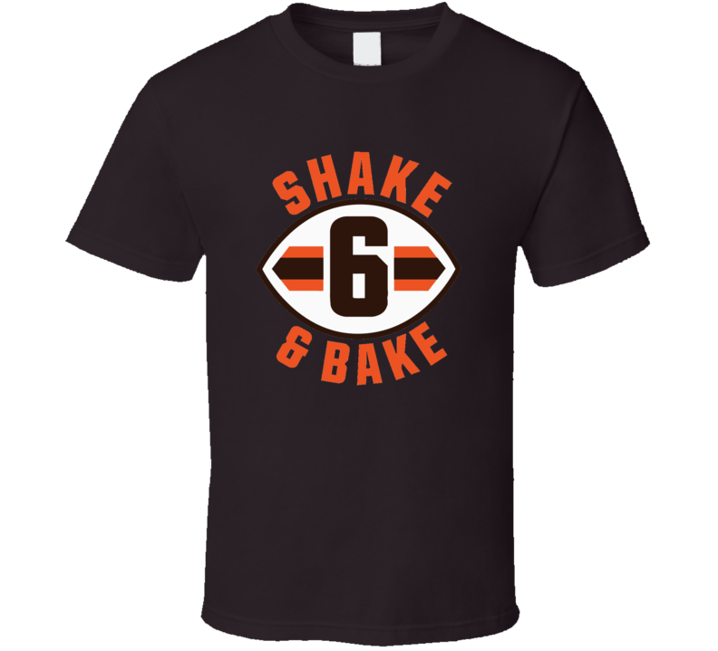 Baker Mayfield Shake And Bake Cleveland Football Distressed T Shirt