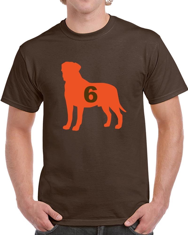 Cleveland Football Baker Mayfield Goat Dog T Shirt