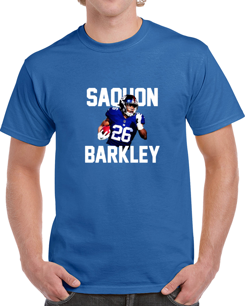 Saquon Barkley 2nd Overall Pick Running Back New York Football T Shirt