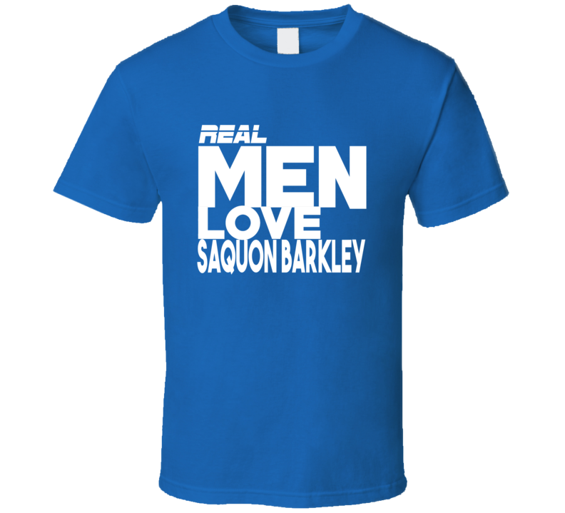 Saquon Barkley Real Men Love Funny New York Football T Shirt