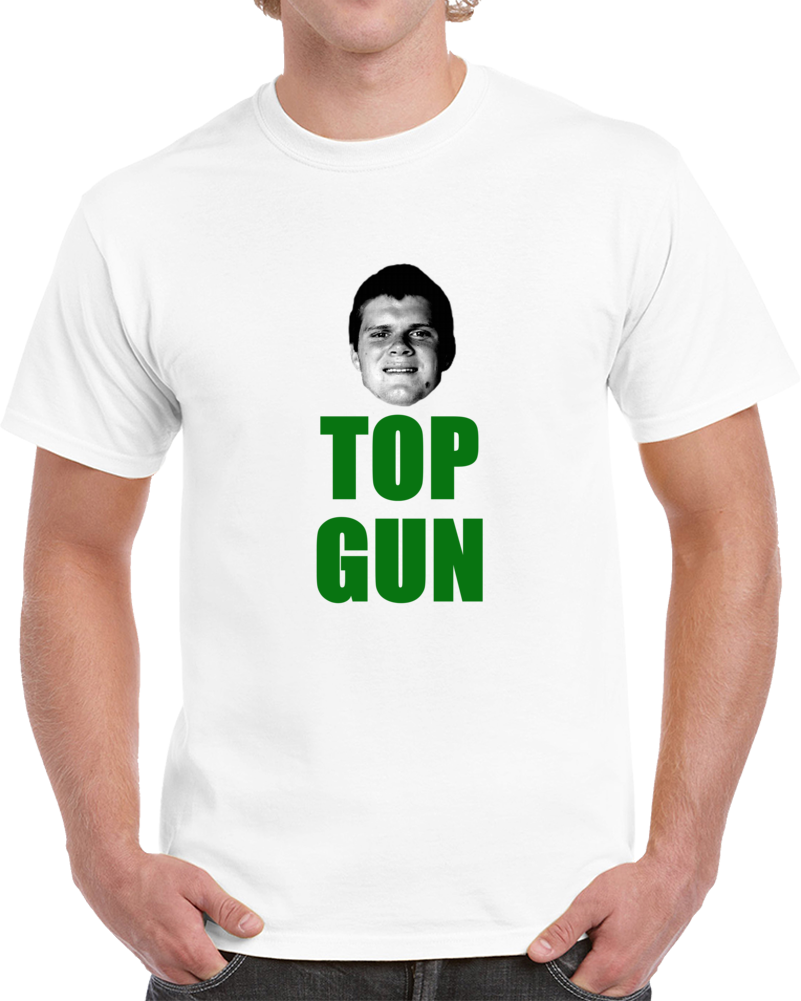Sam Darnald Top Gun Qb Drafted New York Football White T Shirt