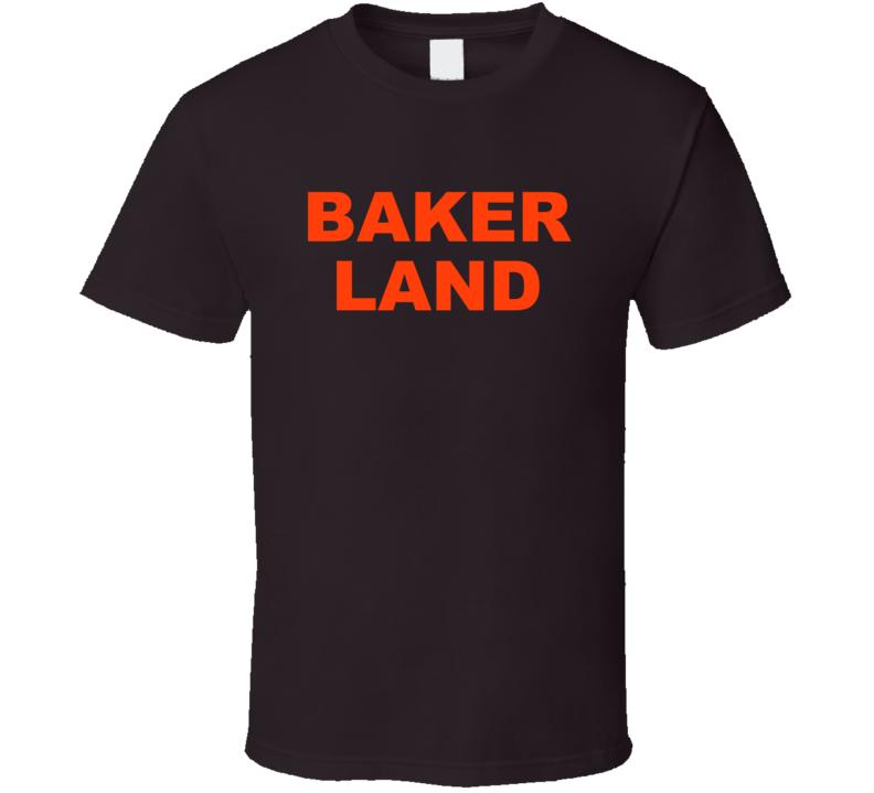 Bakerland Cleveland Qb Heismann Football Fan Supporter T Shirt