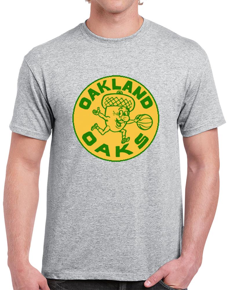 Oakland Oaks 1967 Basketball Team Aba Defunct Negro League T Shrit T Shirt