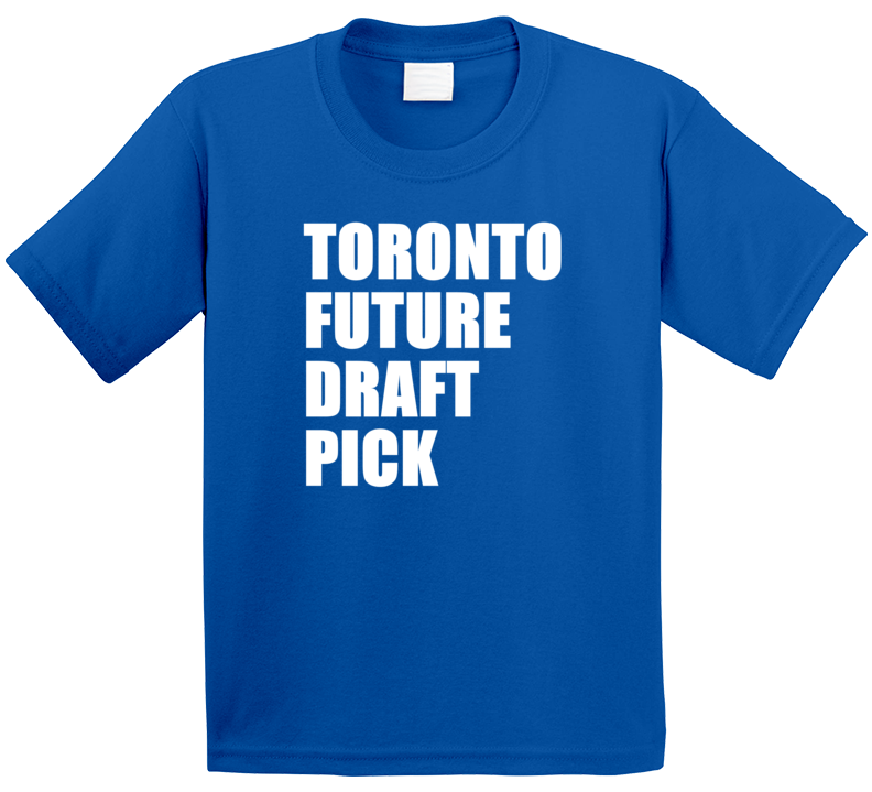 Toronto Future Draft Pick Hockey  Kids Blue T Shirt