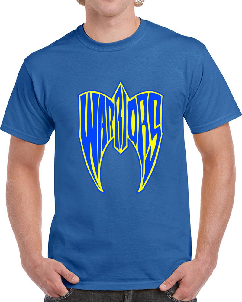 Golden State San Fransisco Oakland Wrestling Logo Hybrid Parody Basketball T Shirt