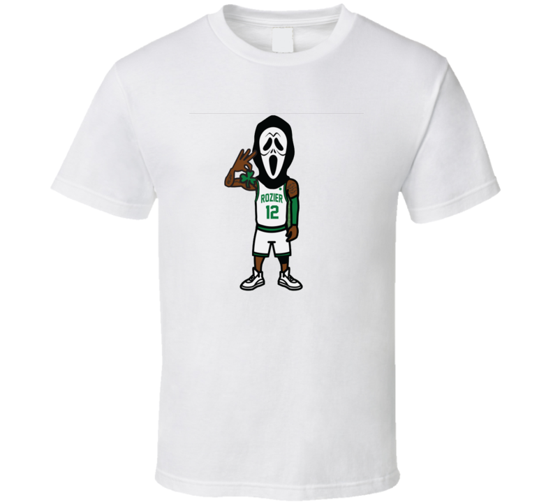 Scary Terry Rozier I Know What You Did Last Summer Boston Basketball White T Shirt