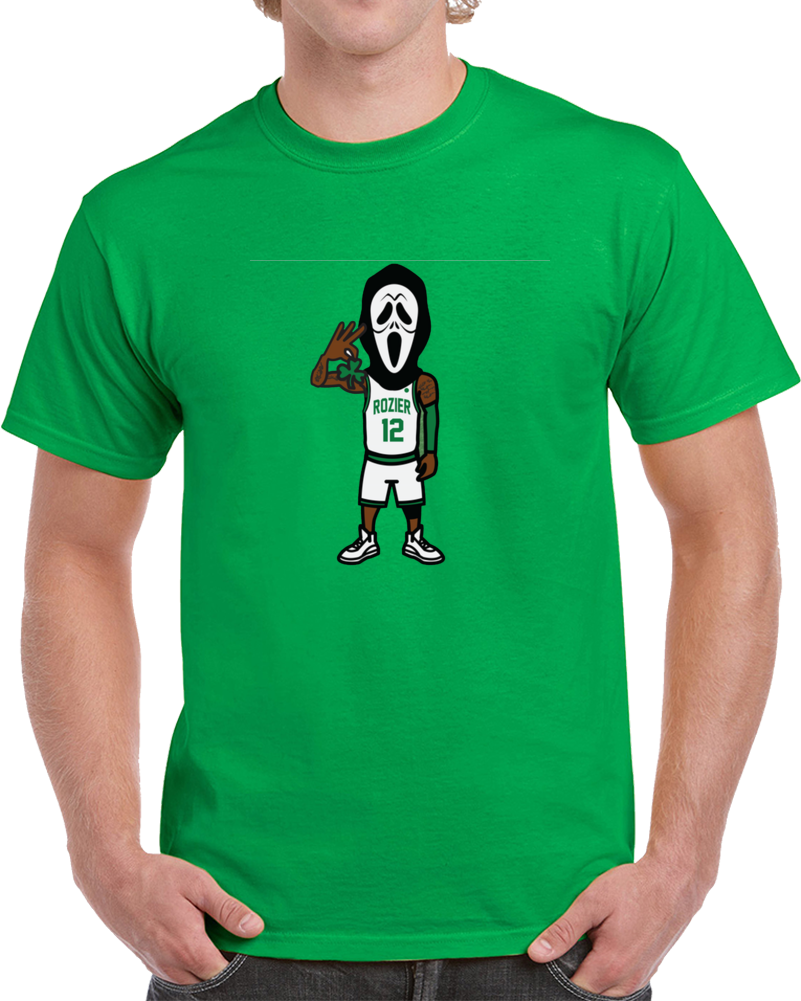 Scary Terry Rozier Boston Basketball Player Parody Playoff T Shirt
