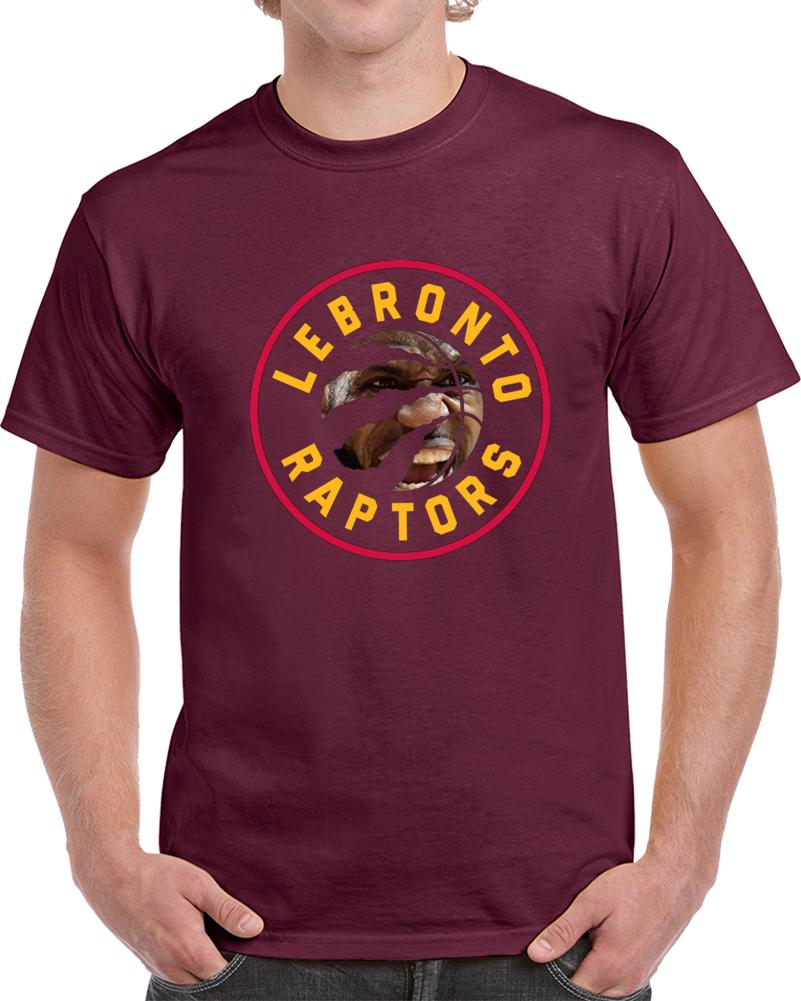 Lebronto Cleveland Toronto Playoff Hybrid Lebron James Basketball T Shirt