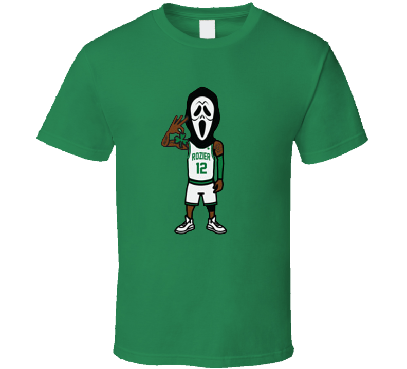 Scary Terry Rozier I Know What You Did Last Summer Boston Basketball T Shirt