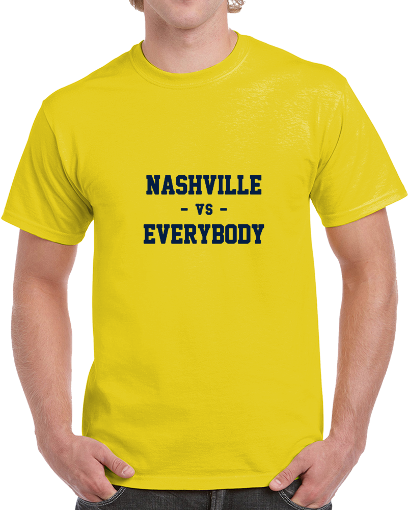 Nashville Vs Everybody Smashvil Fan Supporter V2 T Shirt