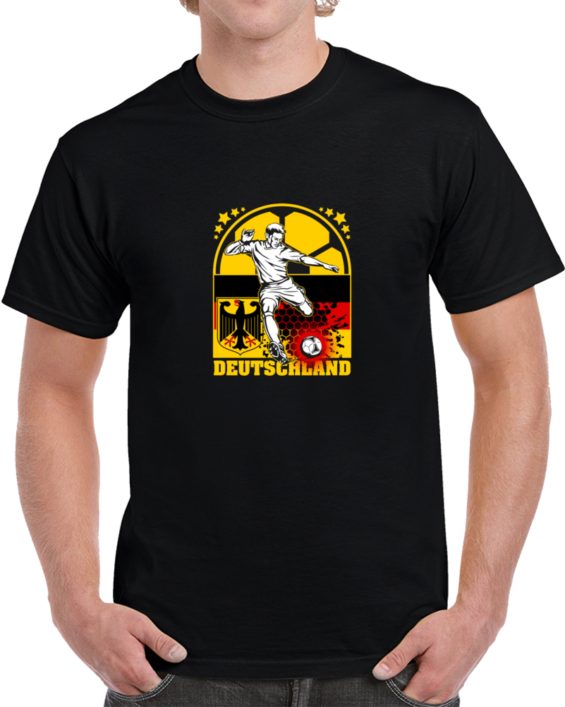 Deutschland German Soccer Team Fan Supporter World Cup T Shirt