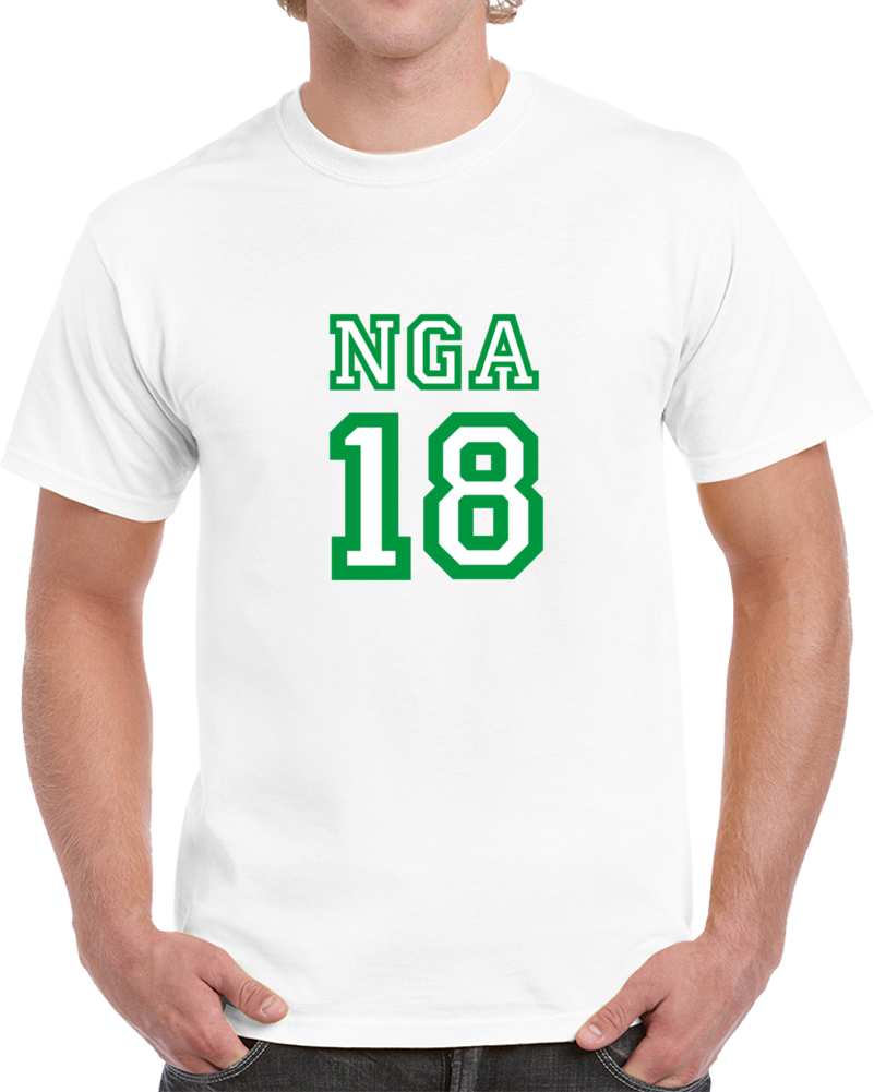 Nigeria 2018 Russia World Cup Soccer Fan Supporter 18 T Shirt
