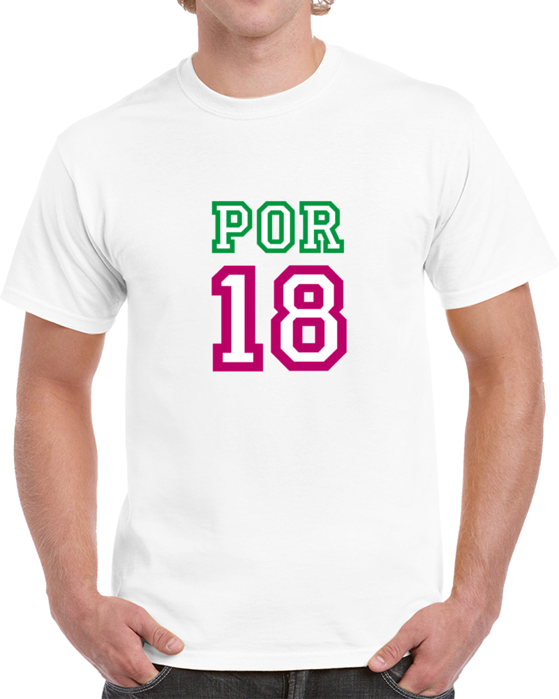 Portugal 2018 Russia World Cup Soccer Fan Supporter 18 T Shirt
