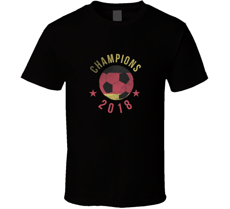Germany Deutschland 2018 World Cup Champions Fan Suporter T Shirt