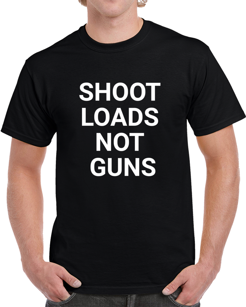 Shoot Loafs Not Guns Funny Tennessee Law Maker Political T Shirt