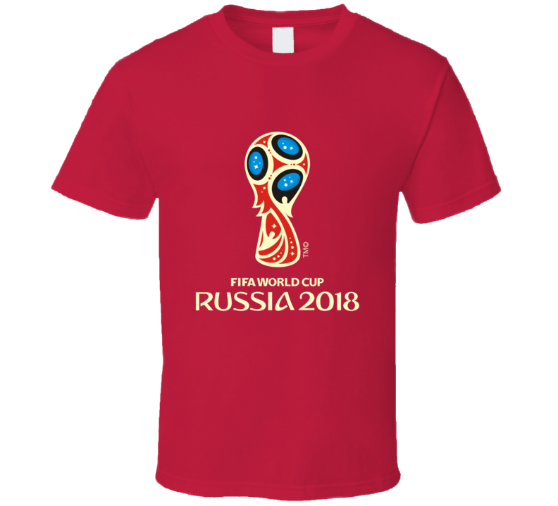 Fifa 2018 Russia World Cup Soccer Football T Shirt
