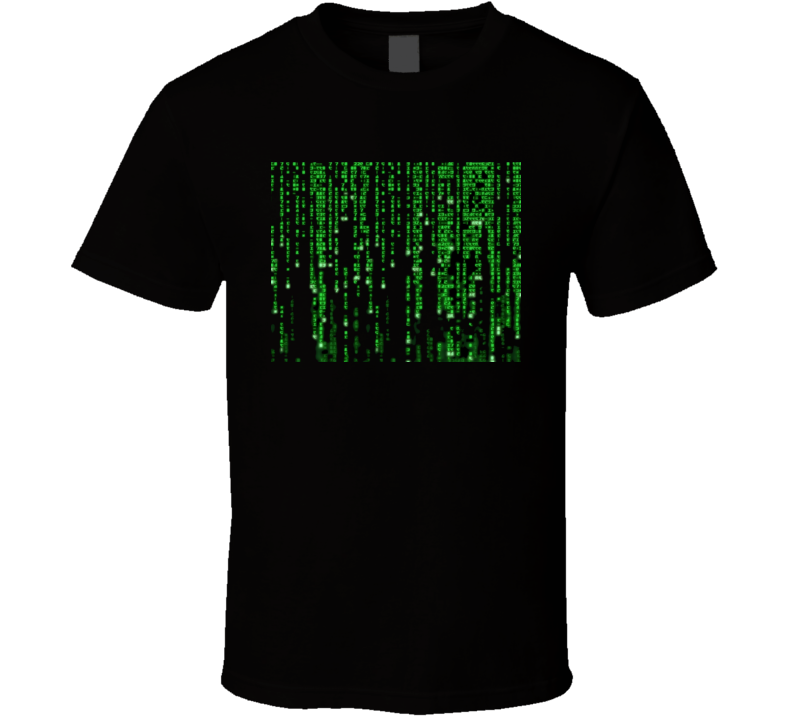 The Matrix Keanu Reeves The Code T Shirt