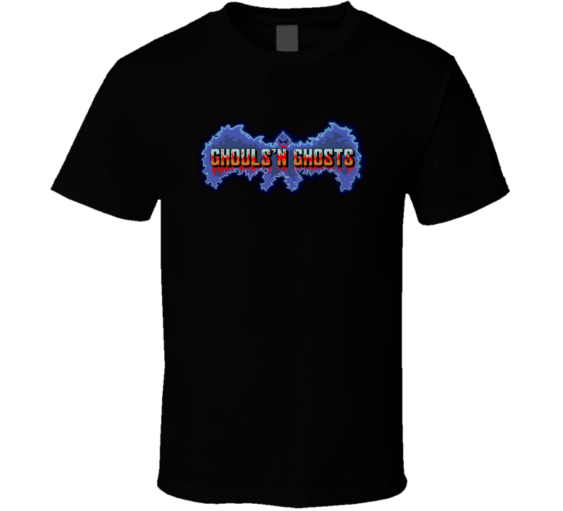 Ghould And Ghosts Classic Retro Vintage Video Game T Shirt
