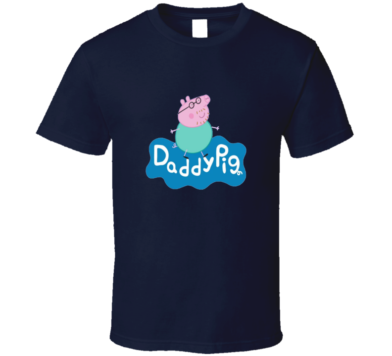Cool Daddy Pig Peppa Tv Show Kids Father T Shirt
