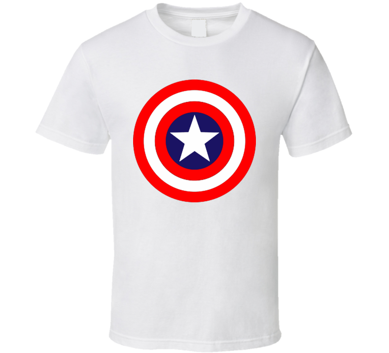 Captain America 4th Of July Comic Fan American Pride T Shirt All Colour All Sizes