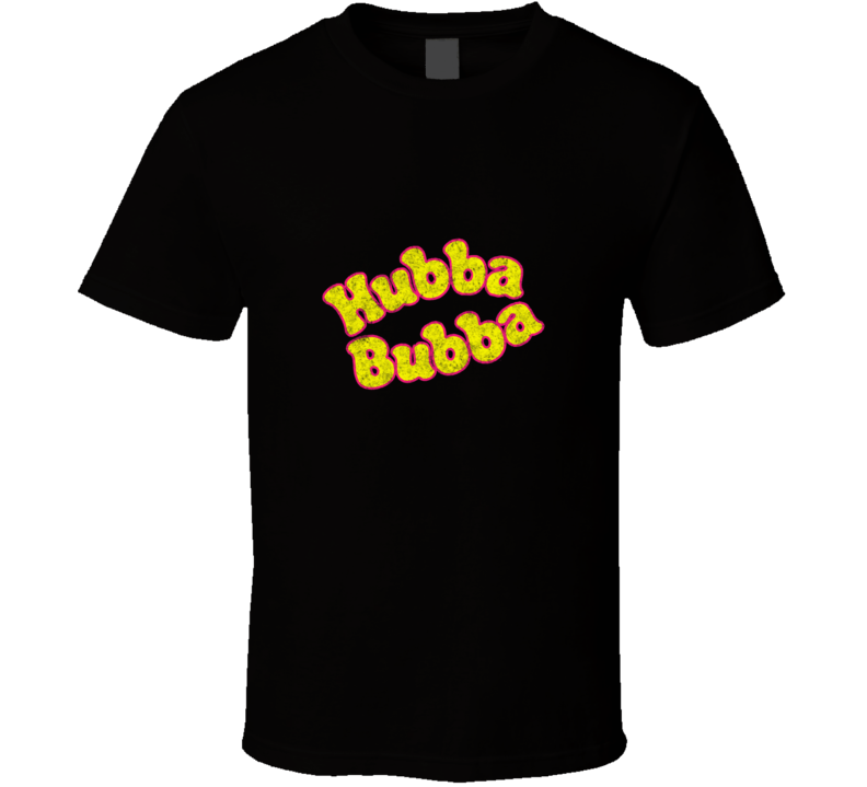 Hubba Bubba Chewing Bubble Gum Retro Vintage Distressed T Shirt