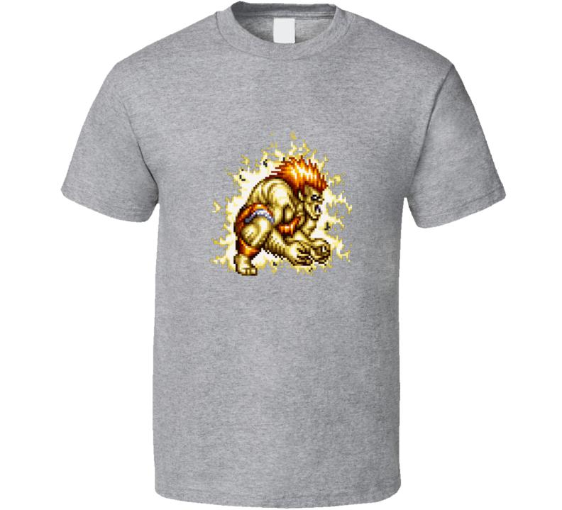 Blanka Street Fighter Classic Retro Vintage Video Game T Shirt