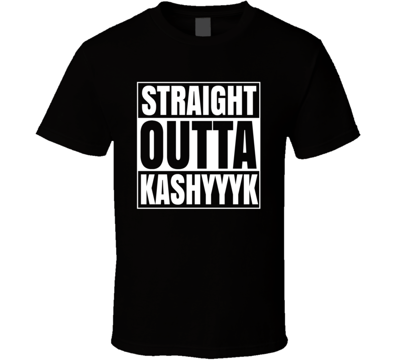 Straight Outta Kashyyyk Chewbacca Birthplace Cool Star Wars T Shirt