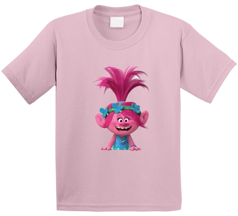 Trolls Childrens Tv Show Movie Kids Girls T Shirt