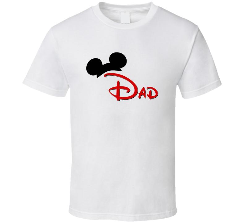 Dad Disney Ears Mickey Family T Shirt