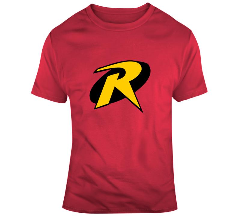 Robin Boy Wonder Costume Logo Comic Character T Shirt