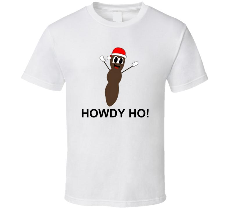 Mr. Hankey The Christmas Poo Funny Cartoon Character Christmas T Shirt