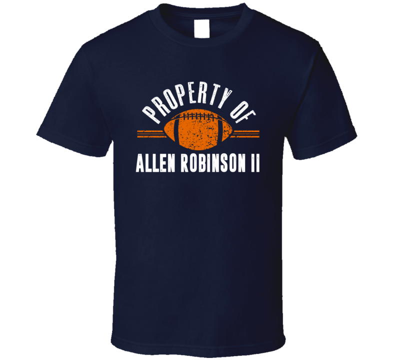 Property Of Allen Robinson Wide Receiver Chicago Football T Shirt