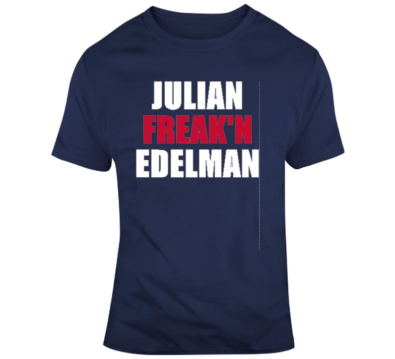 Julian Freakn Edelman Wide Receiver New England Champions T Shirt