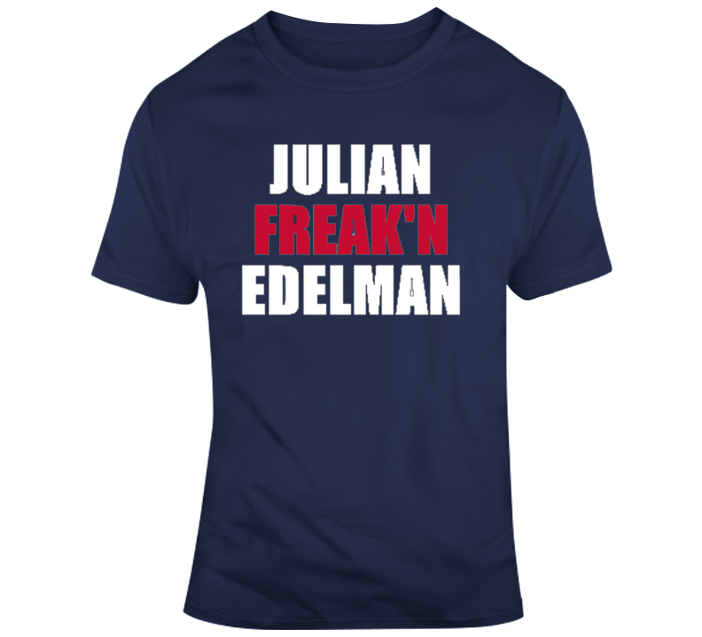 Julian Freakn Edelman New Englad Wide Receiver Champion Mvp T Shirt
