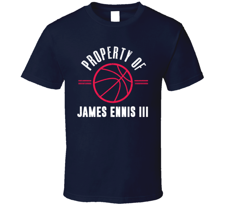Property Of James Ennis Philadelphia Basketball T Shirt