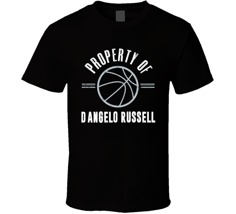 Property Of D'angelo Russell Brooklyn Basketball T Shirt