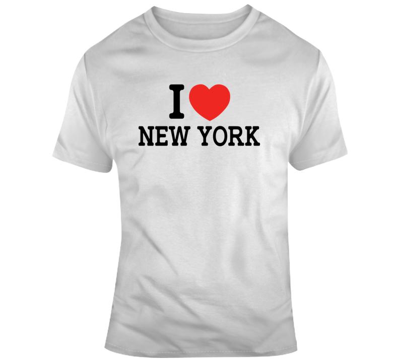 I Love New York Classic Funny T Shirt