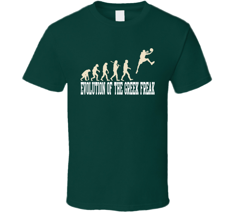 Evolution Of The Greek Freak Milwaukee Basketball T Shirt