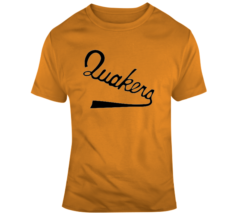 Philadelphia Quakers Defunct Nhl Hockey Team Retro Vintage T Shirt