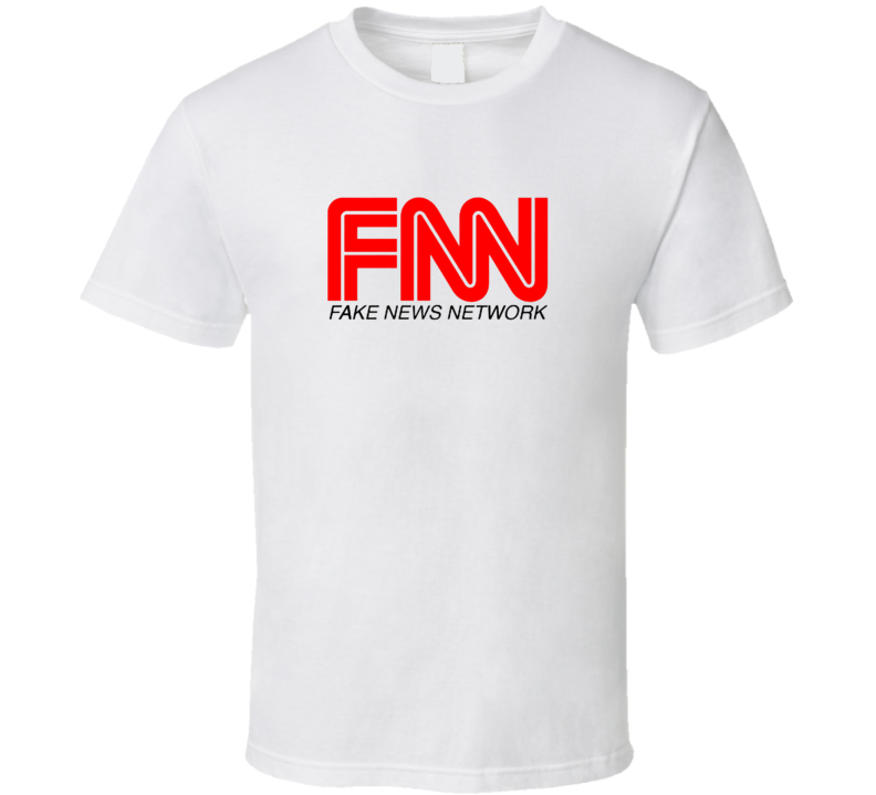 Fake News Network Donald Trump  Political T Shirt