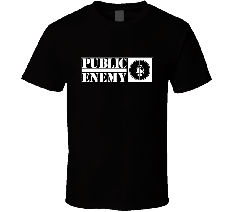 Public Enemy Hip Hop Vintage Retro Classic Rap Group T Shirt